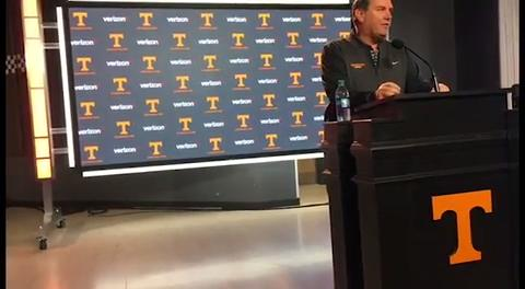 Hoke: Vols will show competitive spirit against Vanderbilt