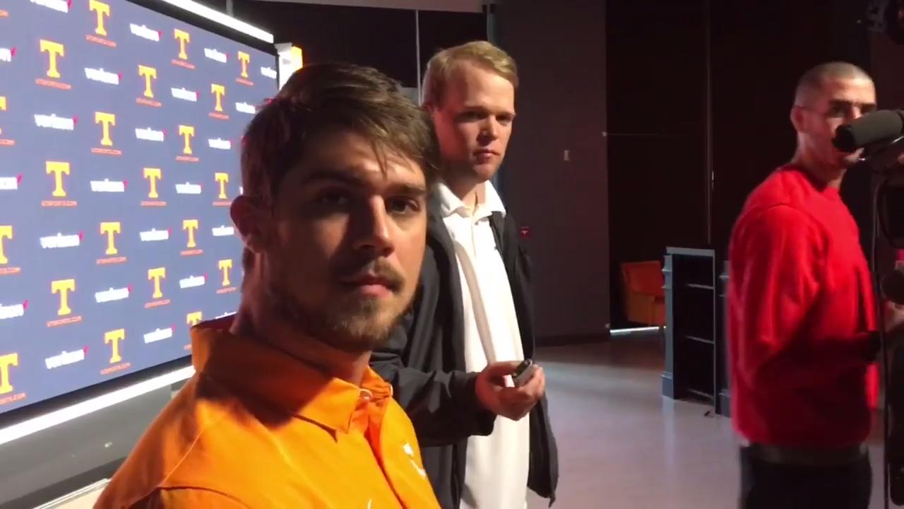 Tennessee players offer their impersonations of Brady Hoke