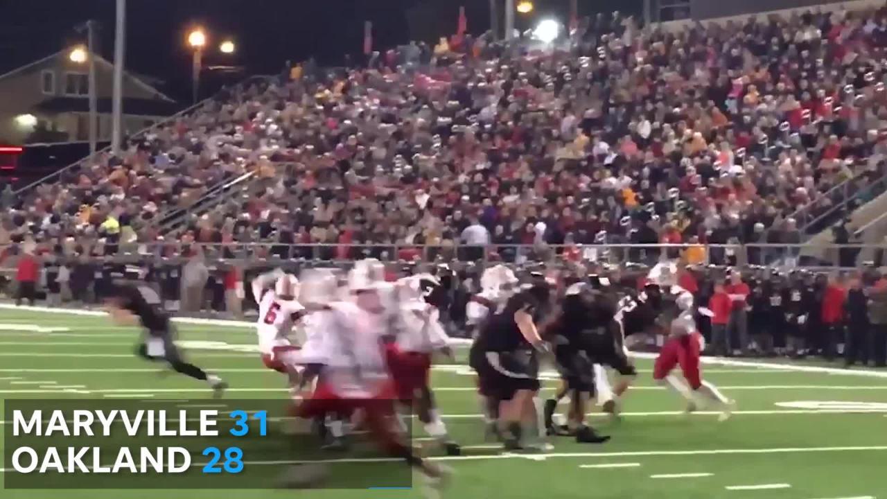 Friday night highlights: TSSAA high school football semifinals