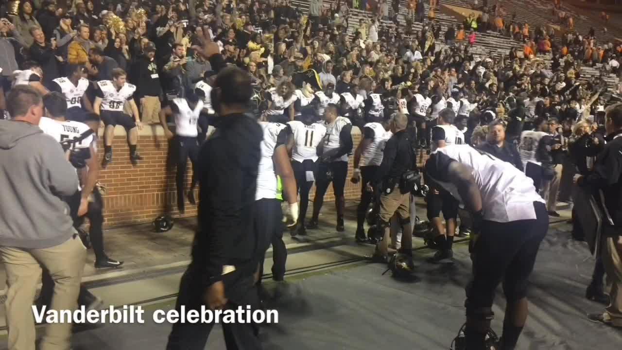 Vanderbilt celebration