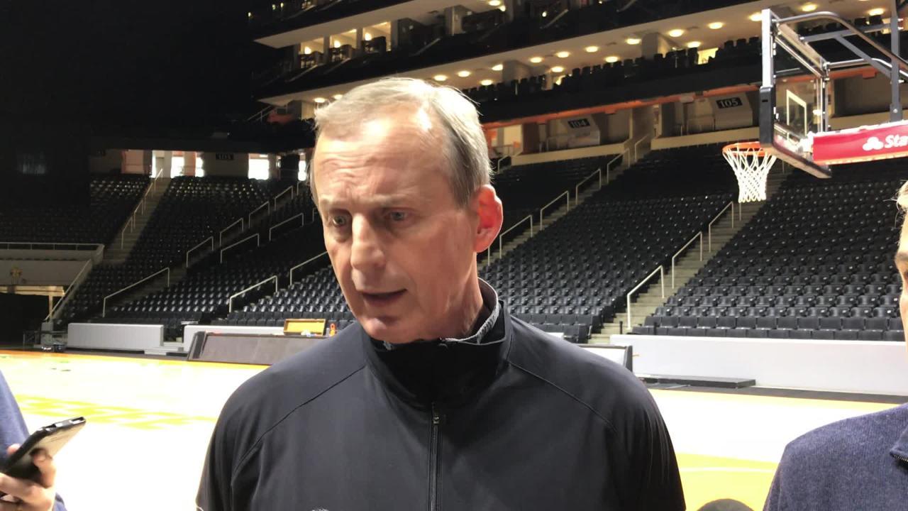 Rick Barnes: Vols need to become 'elite practice team'