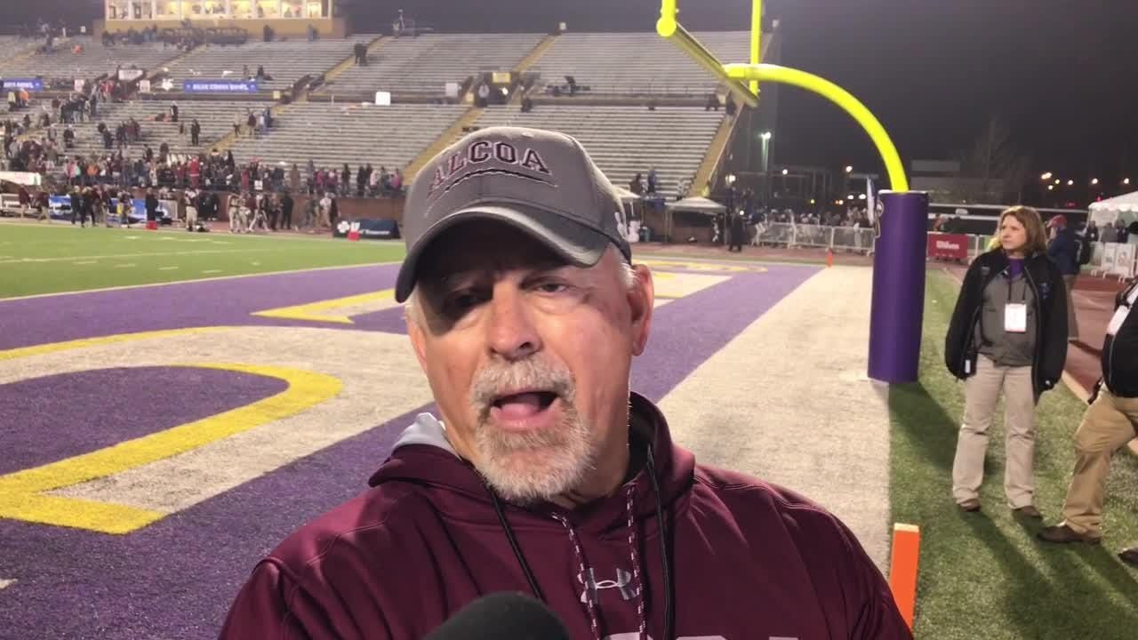Alcoa coach Gary Rankin discusses state title