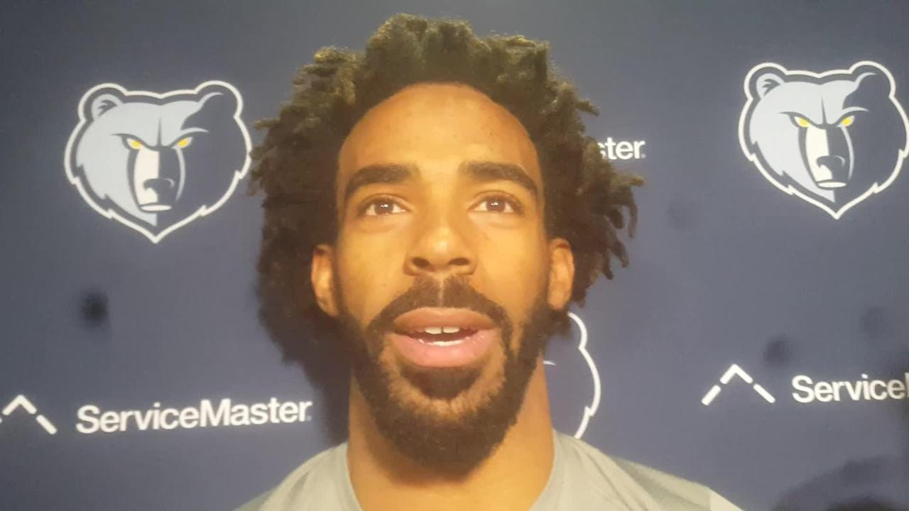 Mike Conley on Achilles rehab