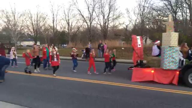 Facebook Live video of the 2017 Fairview Christmas Parade