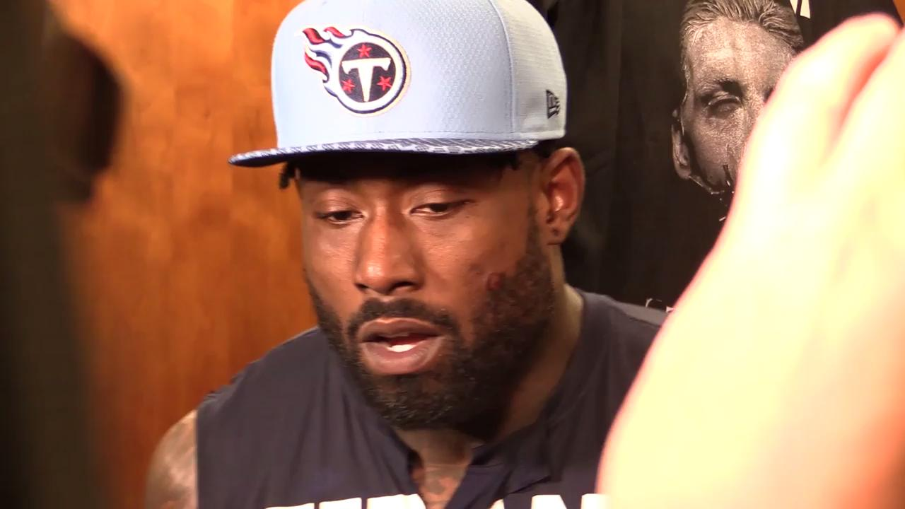 Delanie Walker explains injury on touchdown in win against Texans
