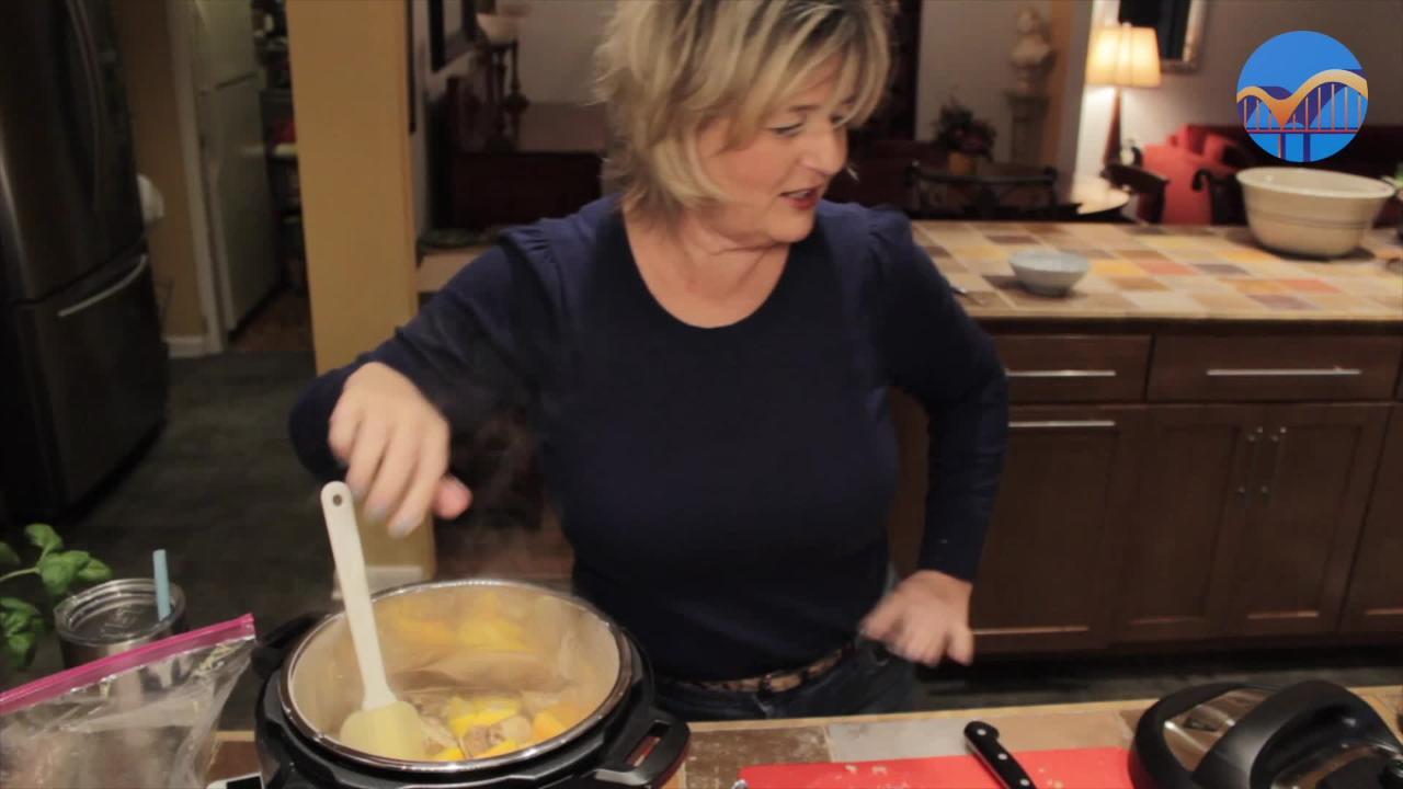 Instant Pot Creamy Butternut Squash Risotto