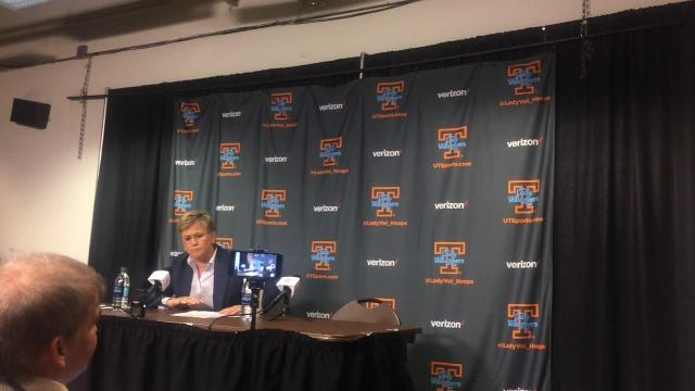 Holly Warlick likes what she sees