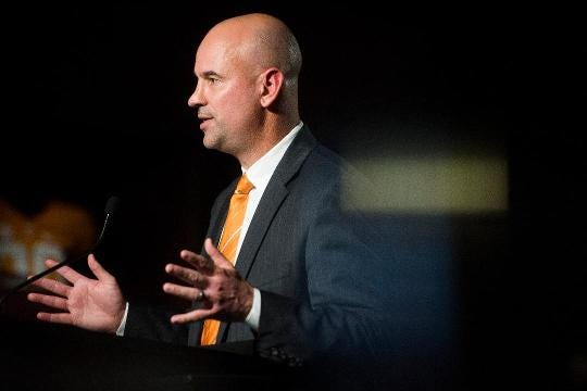 Who Pruitt sees as Vols' opponents