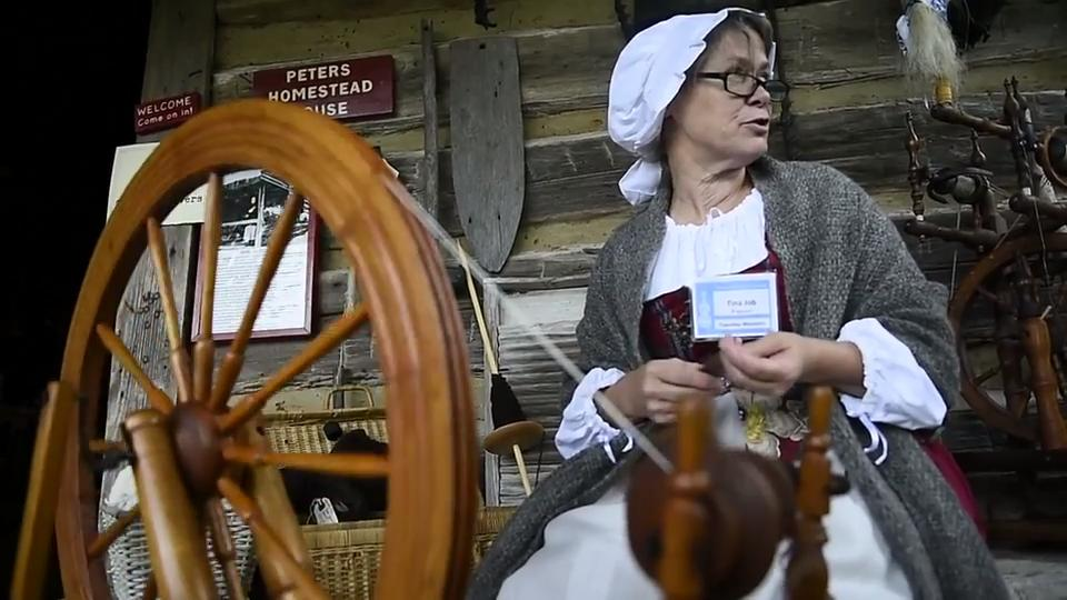 From the archives: President Elaine Meyer gives details on the Tennessee Fall Homecoming : Museum of Appalachia event in Norris, TN.