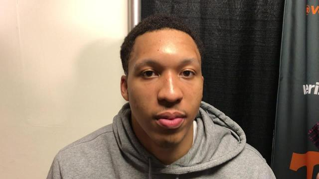 Grant Williams:  Vols have lots of opportunity to improve