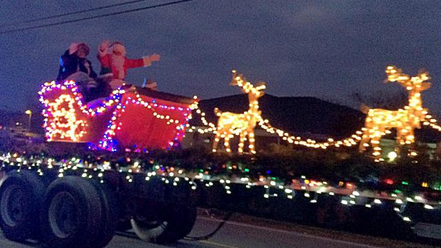 White Bluff Electric Light Christmas Parade