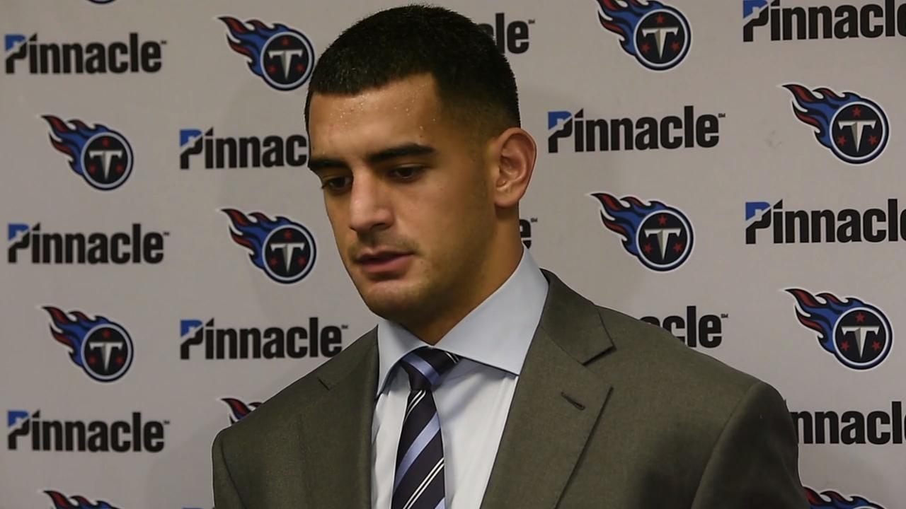 Titans vs. Cardinals: Marcus Mariota, Mike Mularkey discuss the loss