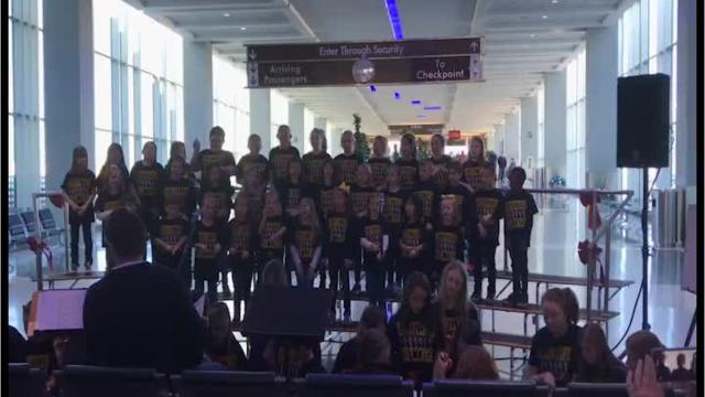 Travelers will be getting some holiday cheer this week as different groups of carolers will be singing to travelers at McGhee Tyson Airport.