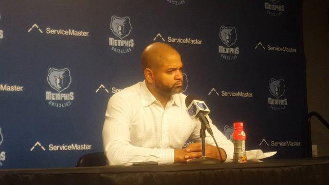 Griz interim coach J.B. Bickerstaff after loss to the Heat
