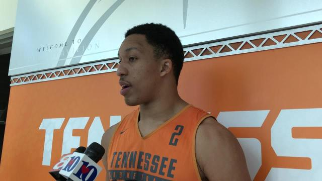 Grant Williams: Vols respect North Carolina highly
