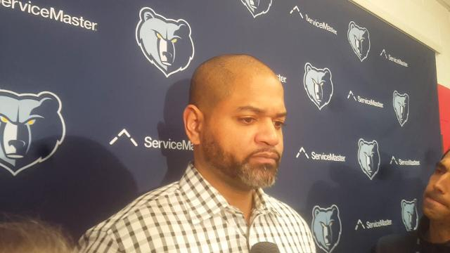 Griz coach J.B. Bickerstaff after loss to Wizards