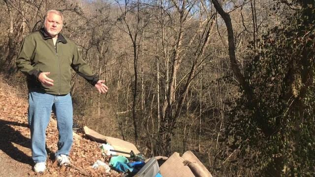 Knox County Commissioner Carson Dailey on county's litter pickup problems