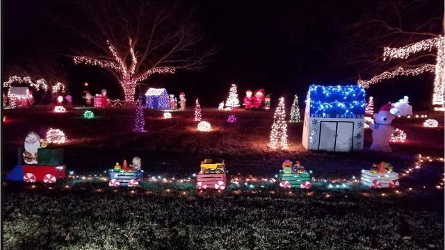 fairview celebrates christmas lights tour - Christmas Light Tour