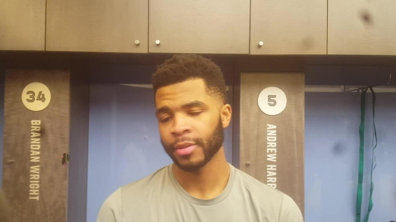 Andrew Harrison after win over Hawks