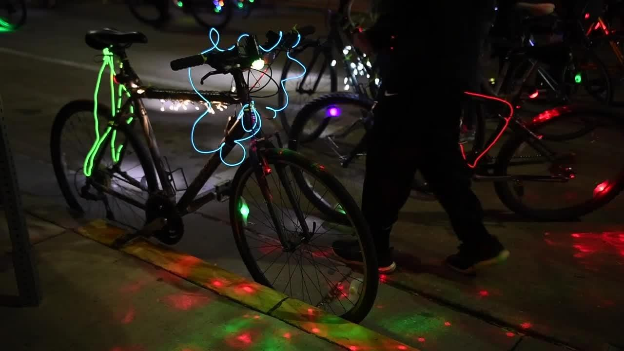 Scenes from the 2017 Tour de Lights in Knoxville, Tenn., Friday, Dec. 15, 2017.