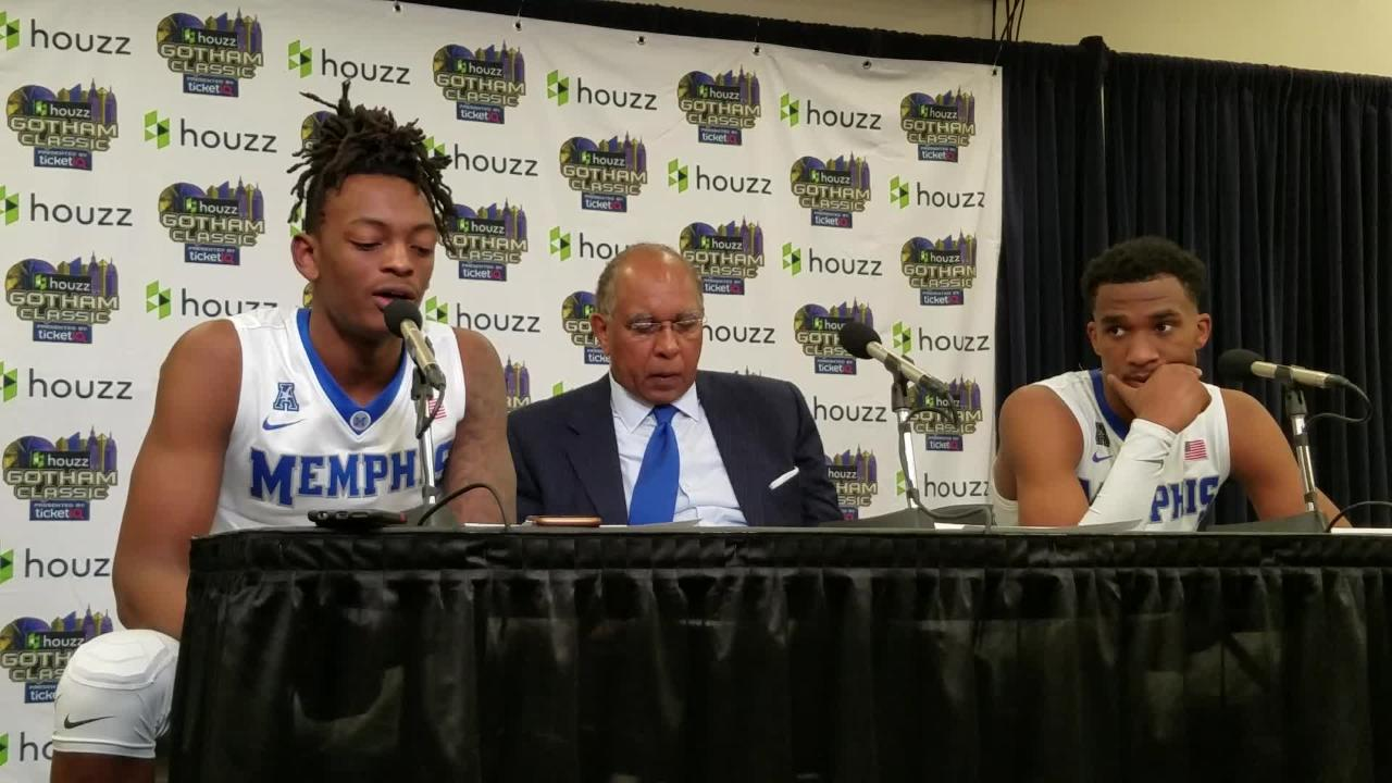 Tubby Smith and players discuss Tigers' loss to Louisville