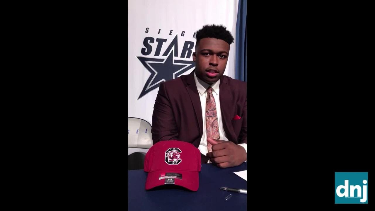 National Signing Day: Siegel's Maxwell Iyama signs with South Carolina
