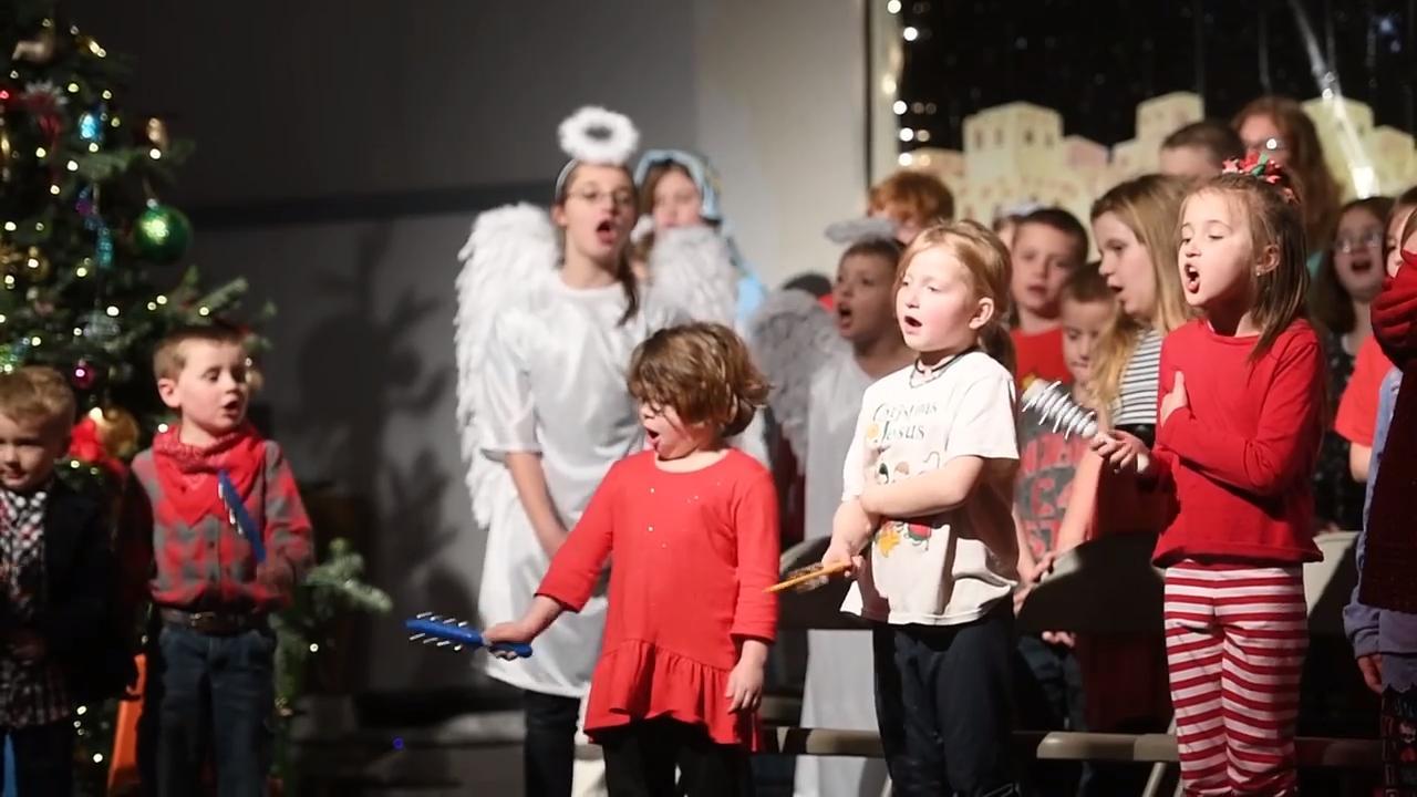 Roaring Fork children's Christmas play