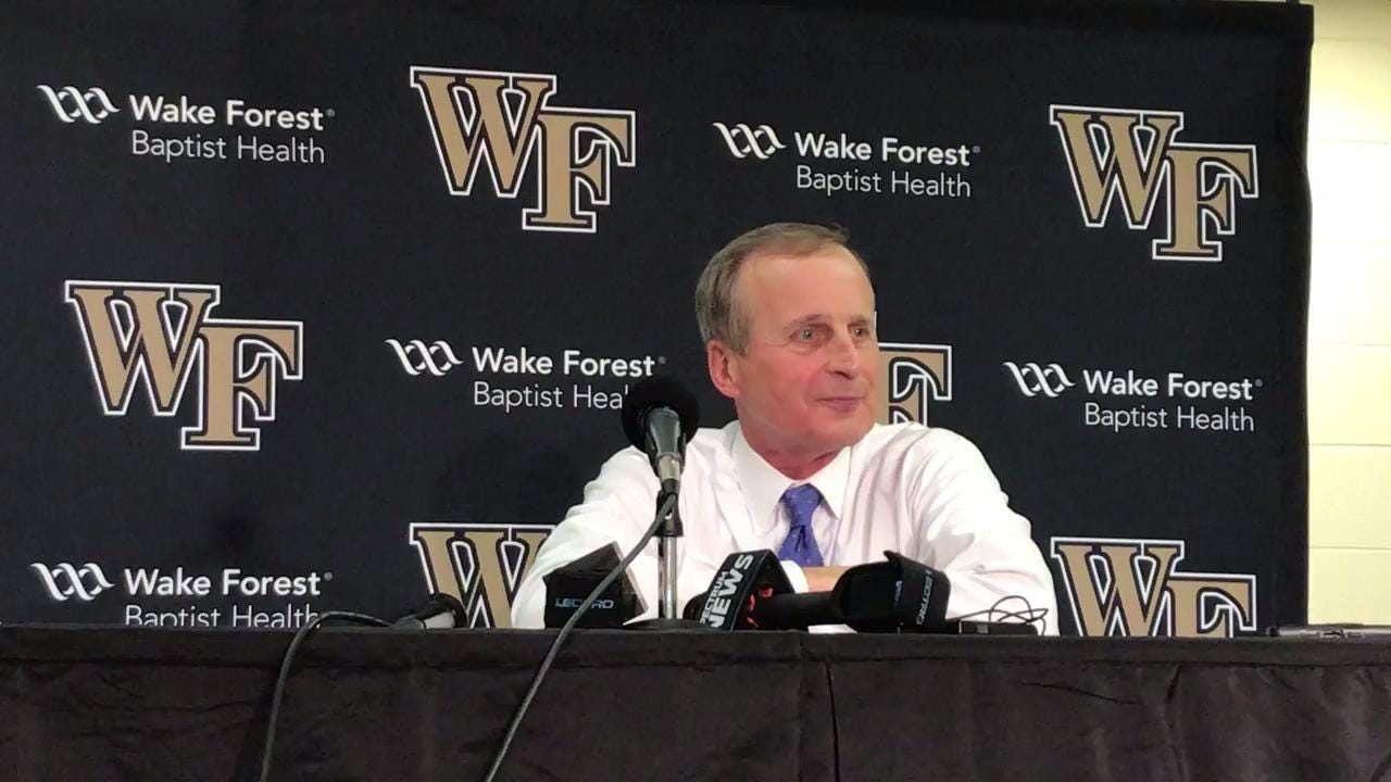 Rick Barnes praises bench players after win at Wake Forest