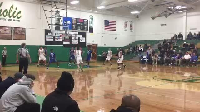 Boys Basketball Highlights: Catholic 67, Karns 65