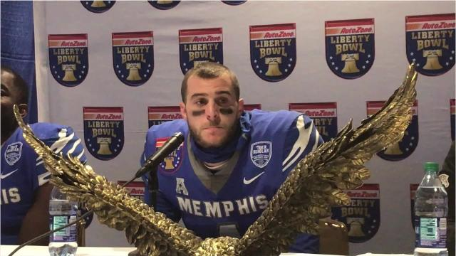 Riley Ferguson on Liberty Bowl loss