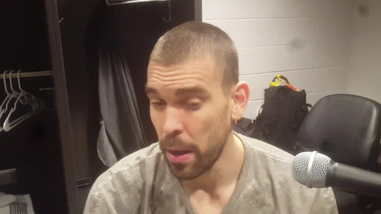 Marc Gasol on facing Zach Randolph