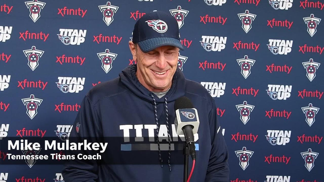 Titans' Marcus Mariota, Mike Mularkey discuss Kansas City