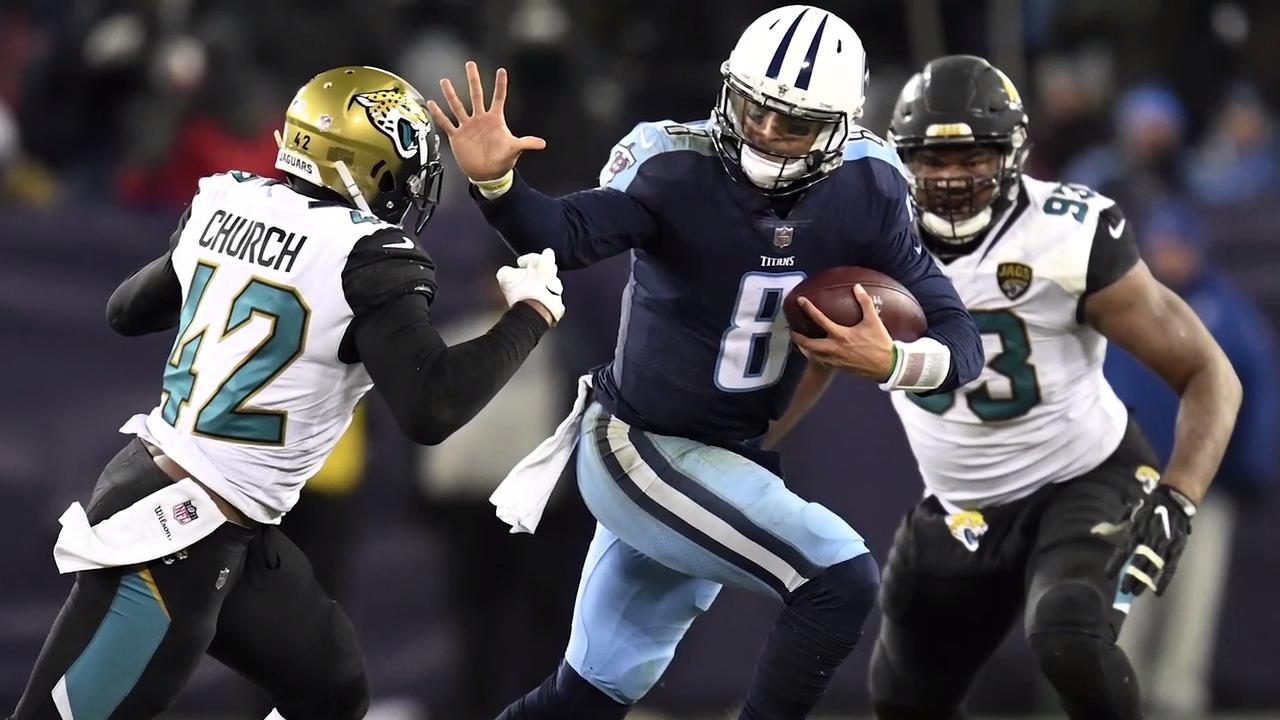 Titans: Mariota's stiff-arm momentous for playoff berth