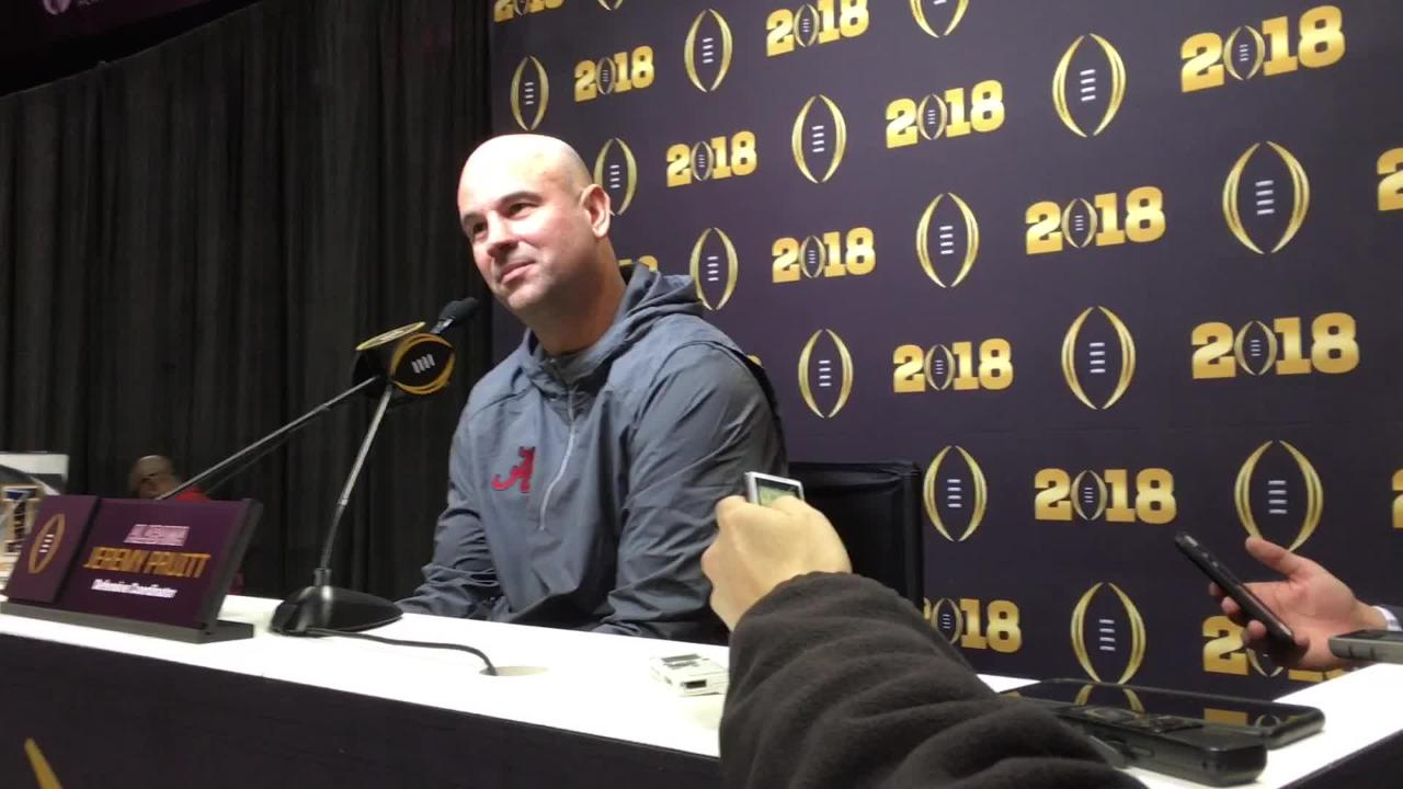 The hardest part of juggling two jobs? The guilt, Jeremy Pruitt says
