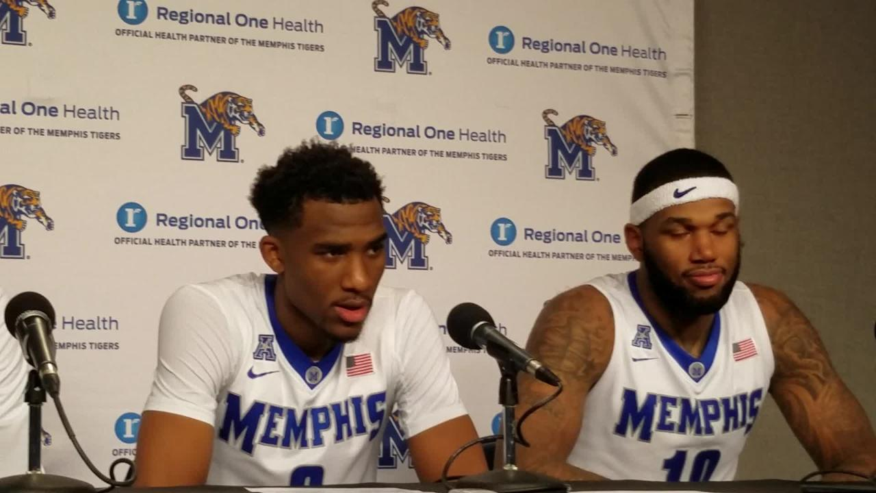 Jeremiah Martin, Mike Parks discuss their career best games vs. Tulsa