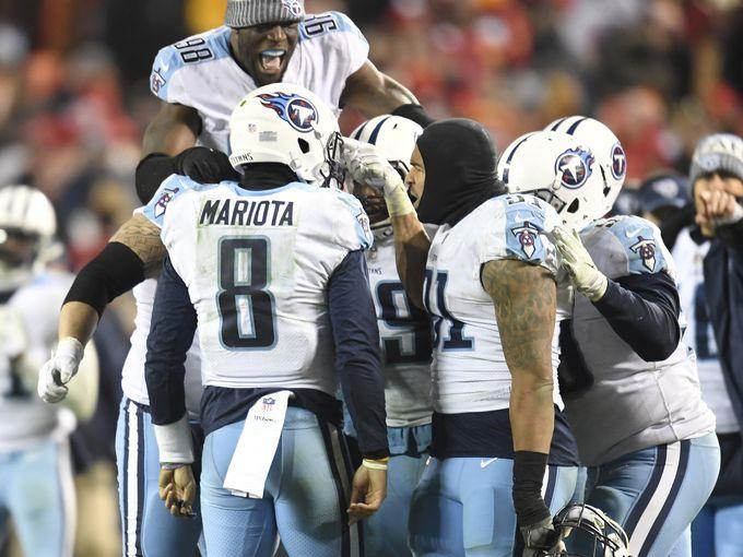 'Must have been a miracle' for Titans to get playoff win, says Walker