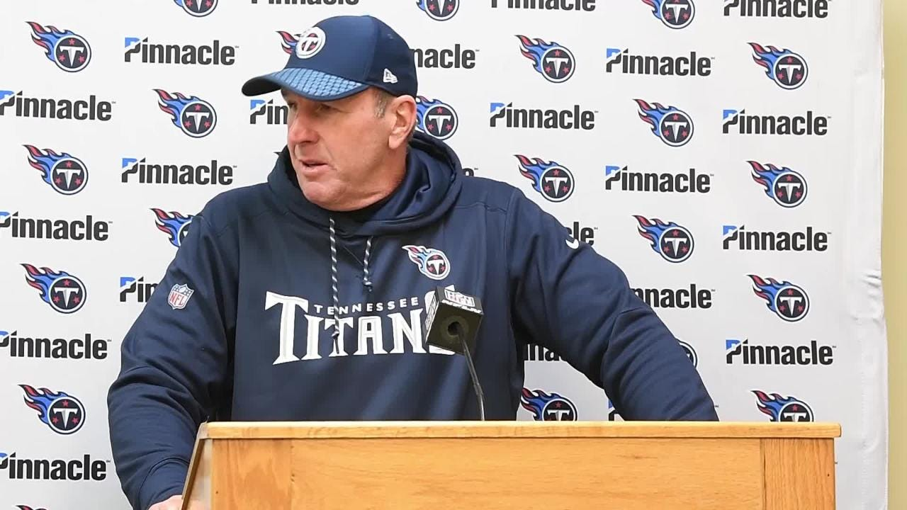 Titans coach Mike Mularkey on comeback against Chiefs: 'That's the team we have'