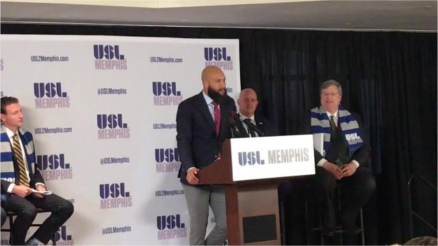Tim Howard on Memphis' USL team
