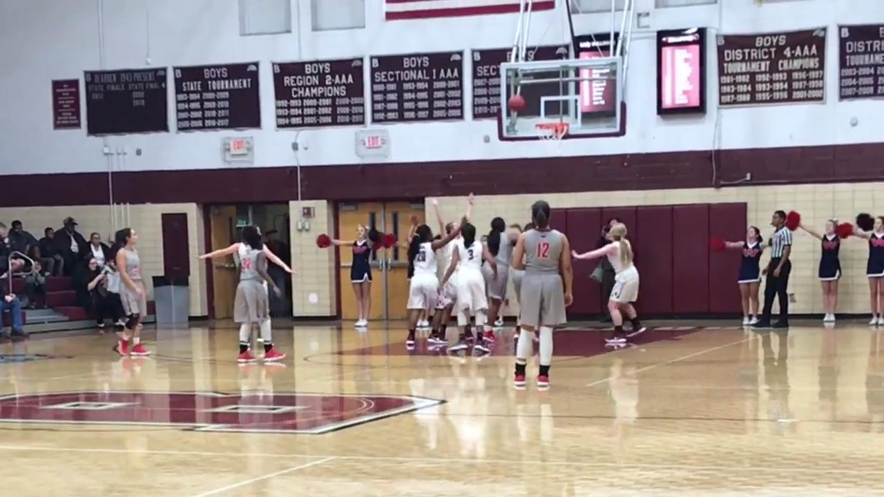 Bearden girls top West 49-17
