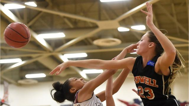 Former Powell basketball player Tori Lentz is back on the court following a series of surgeries for her heart and her hip.