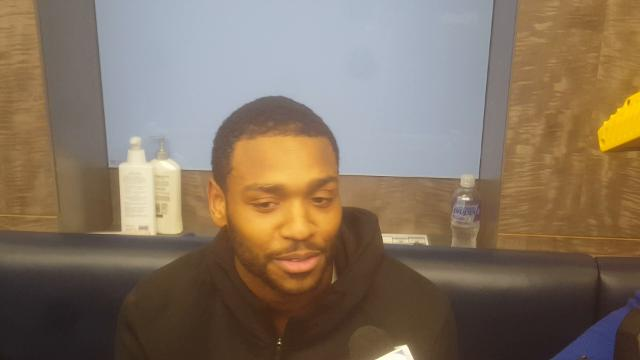 Griz newcomer Myke Henry after beating Sixers
