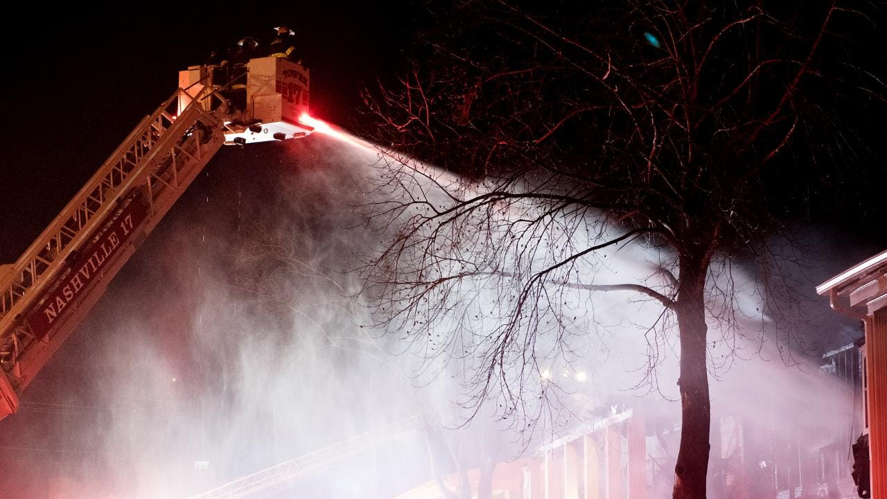 Creekwood Apartments Fire