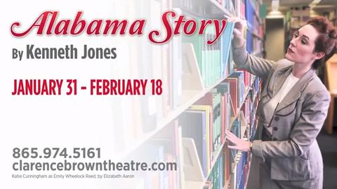 Clarence Brown theater's upcoming production of Alabama Story.