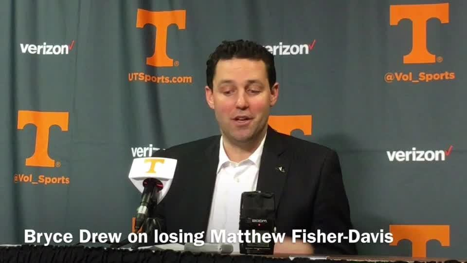 Bryce Drew on loss of Matthew Fisher-Davis