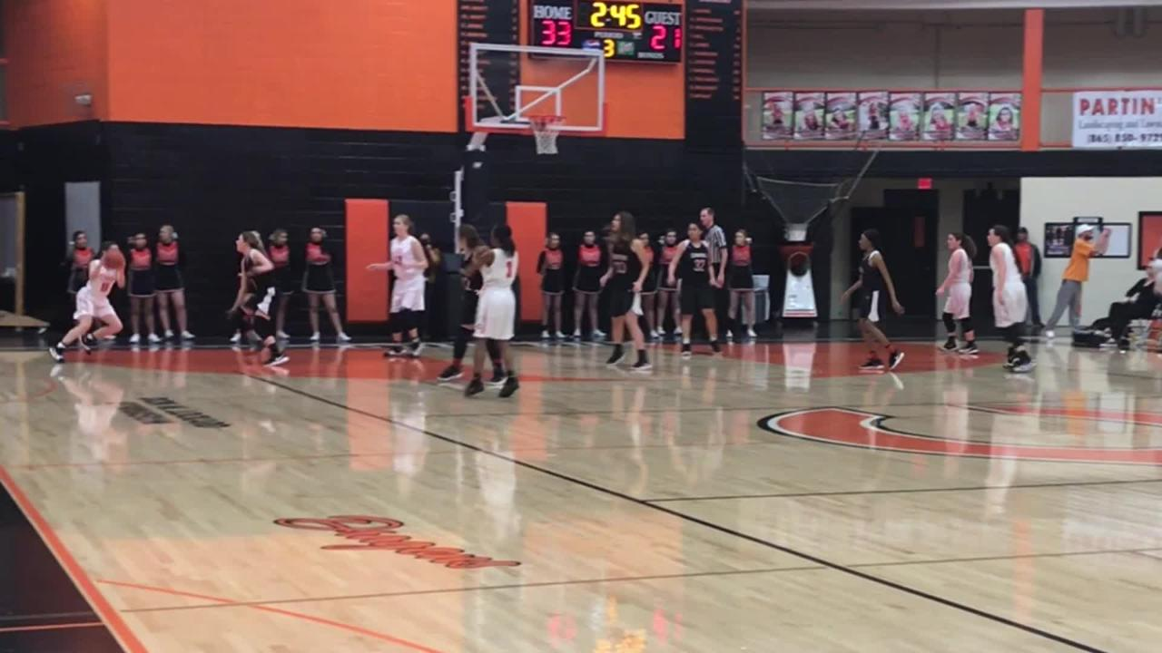 Girls basketball highlights: Central at Clinton