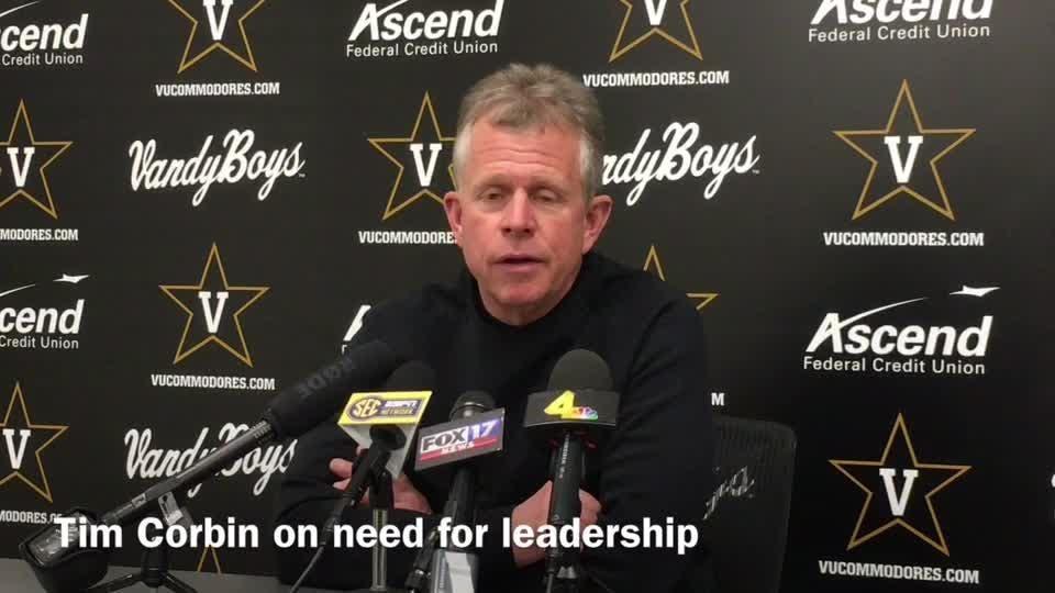 Tim Corbin believes he has team leaders