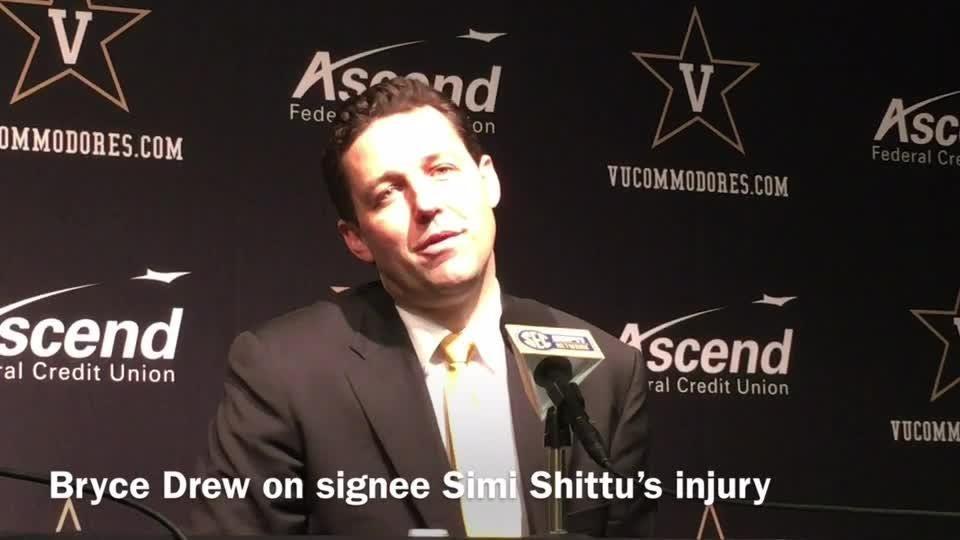 Vandy signee Simi Shittu's ACL rehab