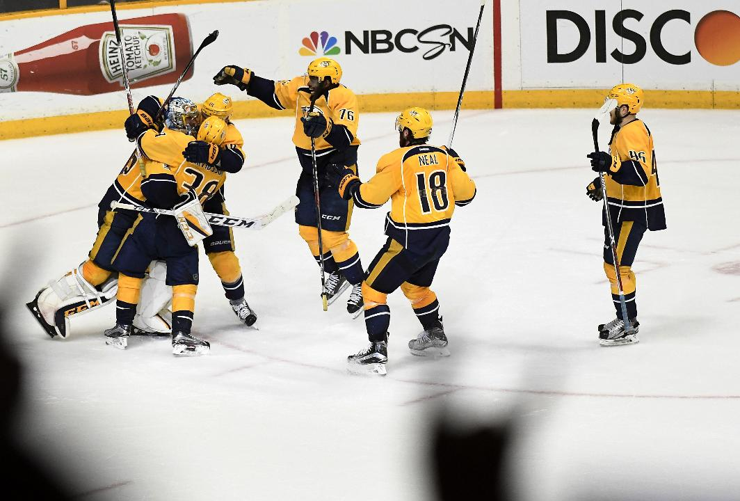 Predators 'are all smiles' with return of Mike Fisher from retirement