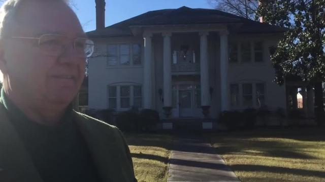 Hot Property:  The owner of the historic home at 1615 Central admires the house so much his family has bought it twice over the years. Now he's selling it and plans to move to Florida.