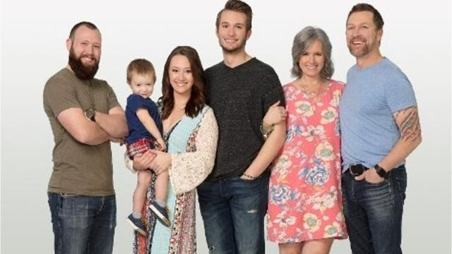 Craig Morgan and his family, including wife Karen, daughter Alexandra, and sons Kyle and Wyatt. Video by UP TV.